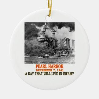PEARL HARBOR CHRISTMAS TREE ORNAMENTS