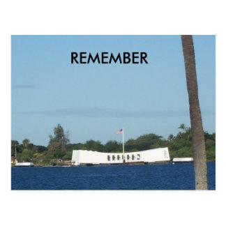 Pearl Harbor post card