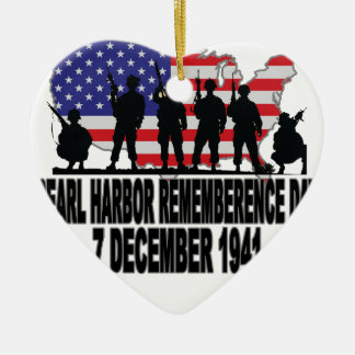 Pearl Harbor Remembrance Day L.png Christmas Tree Ornament