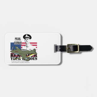 Pearl Harbor - Welch - Remember Your Heroes Tags For Luggage
