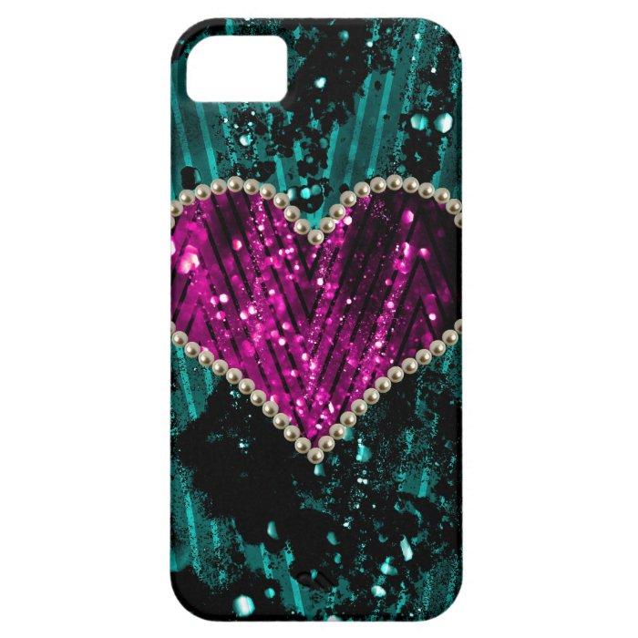 Pearl Heart iPhone SE/5/5s Case