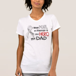 Pearl In Memory Of My Dad Lung Cancer T-Shirt