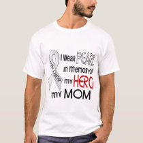 Pearl In Memory Of My Mom Lung Cancer T-Shirt