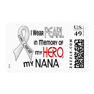 Pearl In Memory Of My Nana Lung Cancer Stamps