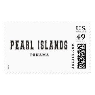 Pearl Islands Panama Postage Stamp