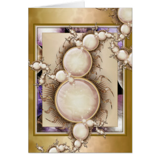 Pearl Jammin' Personalized Card