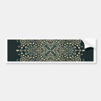 Pearl Jewels Mandala Bumper Sticker