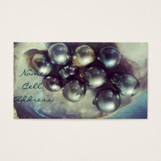 Pearl Luxe Business Card