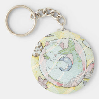 Pearl Mercat keychain