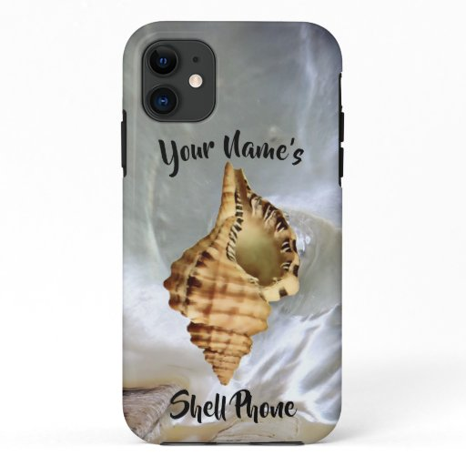 Pearl Nacre Photo Shell Phone iPhone 11 Case