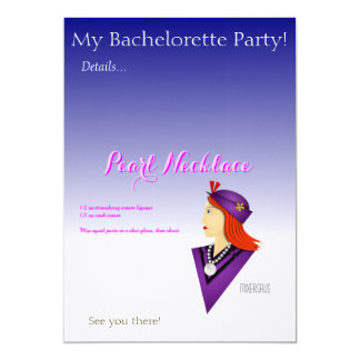Pearl Necklace Drink Recipe Card