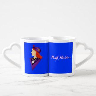 Pearl Necklace Drink Recipe Coffee Mug Set