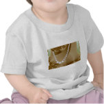 Pearl necklace photo shirts