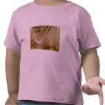 Pearl necklace photo tee shirts
