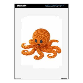 Pearl Octopus Decals For iPad 3