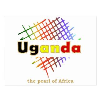 Pearl of Africa 03 Series Postcard