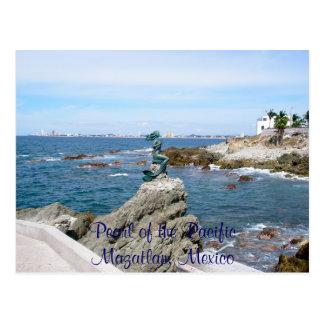Pearl of the Pacfic, Mazatlan, Mexico Postcard