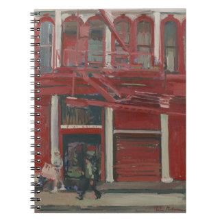 Pearl Paint shop Manhattan Notebook