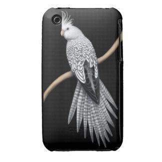 Pearl Pied Cockatiel Parrot iPhone 3 Case
