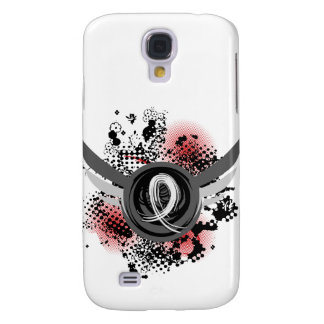 Pearl Ribbon And Wings Lung Cancer Samsung Galaxy S4 Cases