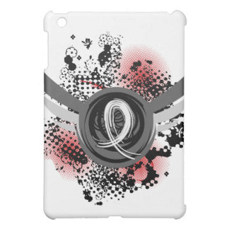 Pearl Ribbon And Wings Lung Cancer iPad Mini Cover
