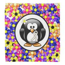 Pearl Ribbon Penguin Bandana