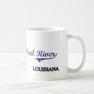 Pearl River Louisiana City Classic Classic White Coffee Mug