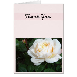 Pearl Rose Thank You Card