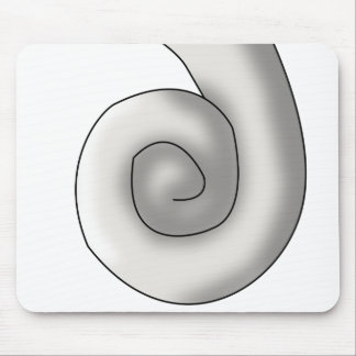Pearl Seahorse Tail Mouse Pad