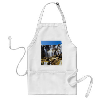 Pearl Shoals Waterfall, Jluzhaigou Nature Reserve, Adult Apron