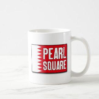Pearl Square Coffee Mug