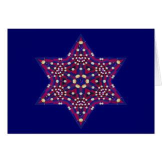 Pearl Star Blank Card