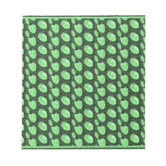 Pearl Stone Green Collection print on family gifts Notepad