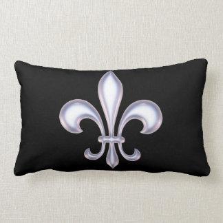Pearl Style Fleur de Lis Pillow