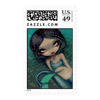 """""""Pearl Swirl Mermaid"""" Stamp"""