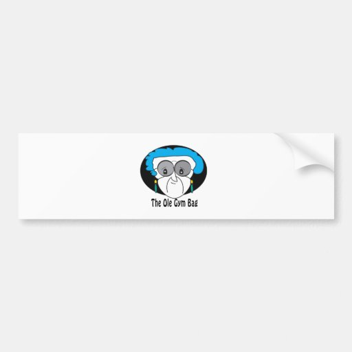 Pearl, the Ole Gym Bag Bumper Sticker