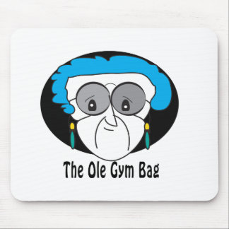 Pearl, the Ole Gym Bag Mouse Pad