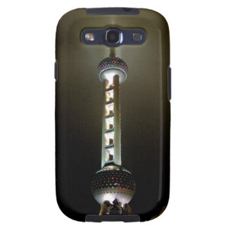Pearl Tower Night Galaxy S3 Case