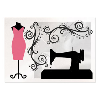 Pearl Version - Fashion / Seamstress Card - SRF Large Business Cards (Pack Of 100)