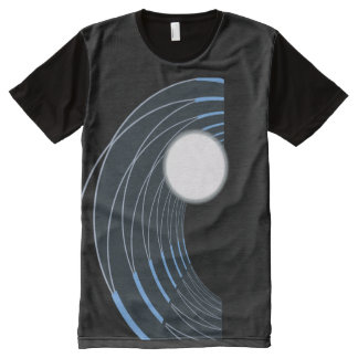 Pearl Wave All-Over-Print T-Shirt