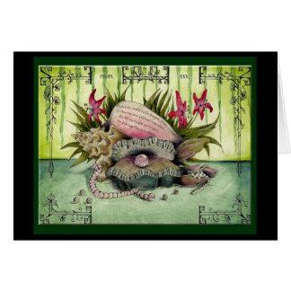 Pearl Wedding Anniversary: Jupigio-Artwork.com Greeting Card
