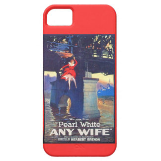 """Pearl White 1922 silent movie """"Any Wife"""" iPhone 5 Case"""