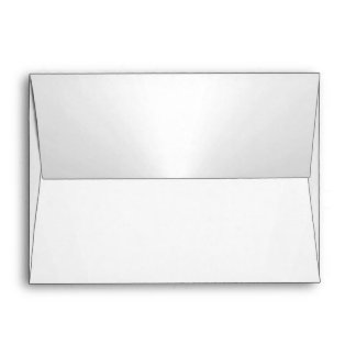 Pearl White Envelope 5 x 7