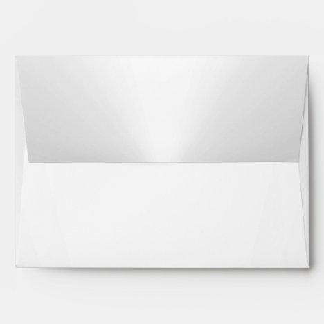 Pearl White Envelope 5 x 7