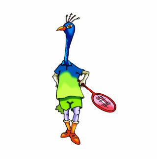 Pearla Peacock Photo Cutout