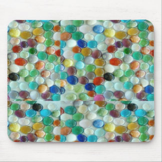 PEARLE Colorful Natural Stones : ENJOY EVERYONE Mouse Pad