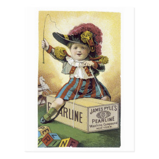 Pearline Washing Compound Post Cards