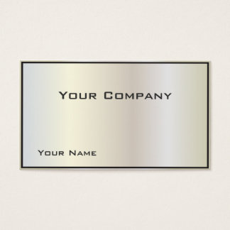 Pearlized Gradient Corporate  Business Card