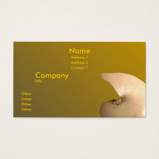 Pearlized Nautilus Business Card