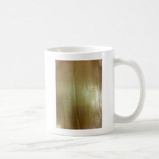 Pearlized Palm Frond Coffee Mug